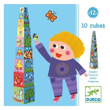 10 Cubes imagier