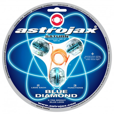 Astrojax Saturn Blue Diamond