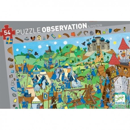 Puzzle DJECO observation
