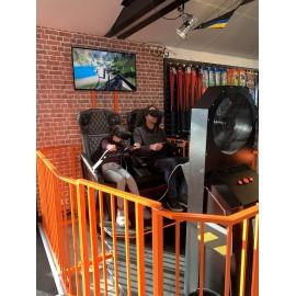 Simulateur dynamique de réalité virtuelle